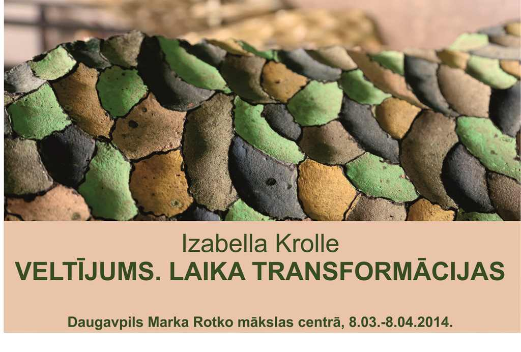"IZABELLA KROLLE ""DEDICATION. TRANSFORMATIONS OF TIME"""