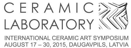 INTERNATIONAL CERAMIC ART SYMPOSIUM CERAMIC LABORATORY