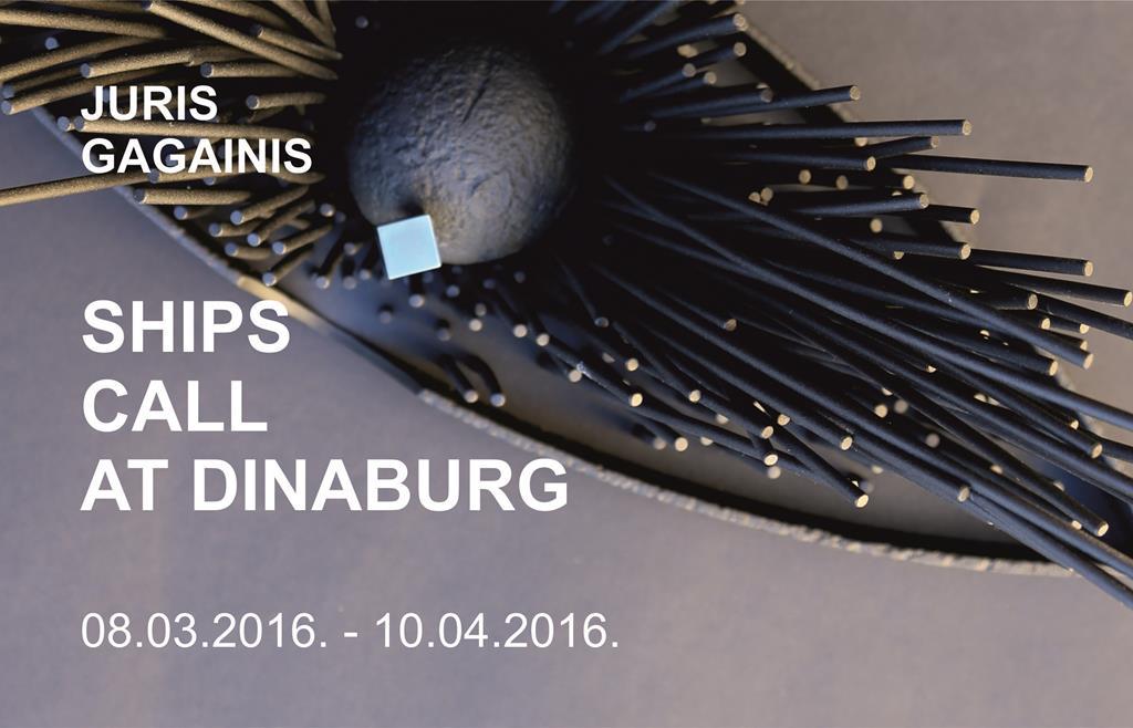 Juris Gagainis   SHIPS CALL AT DINABURG