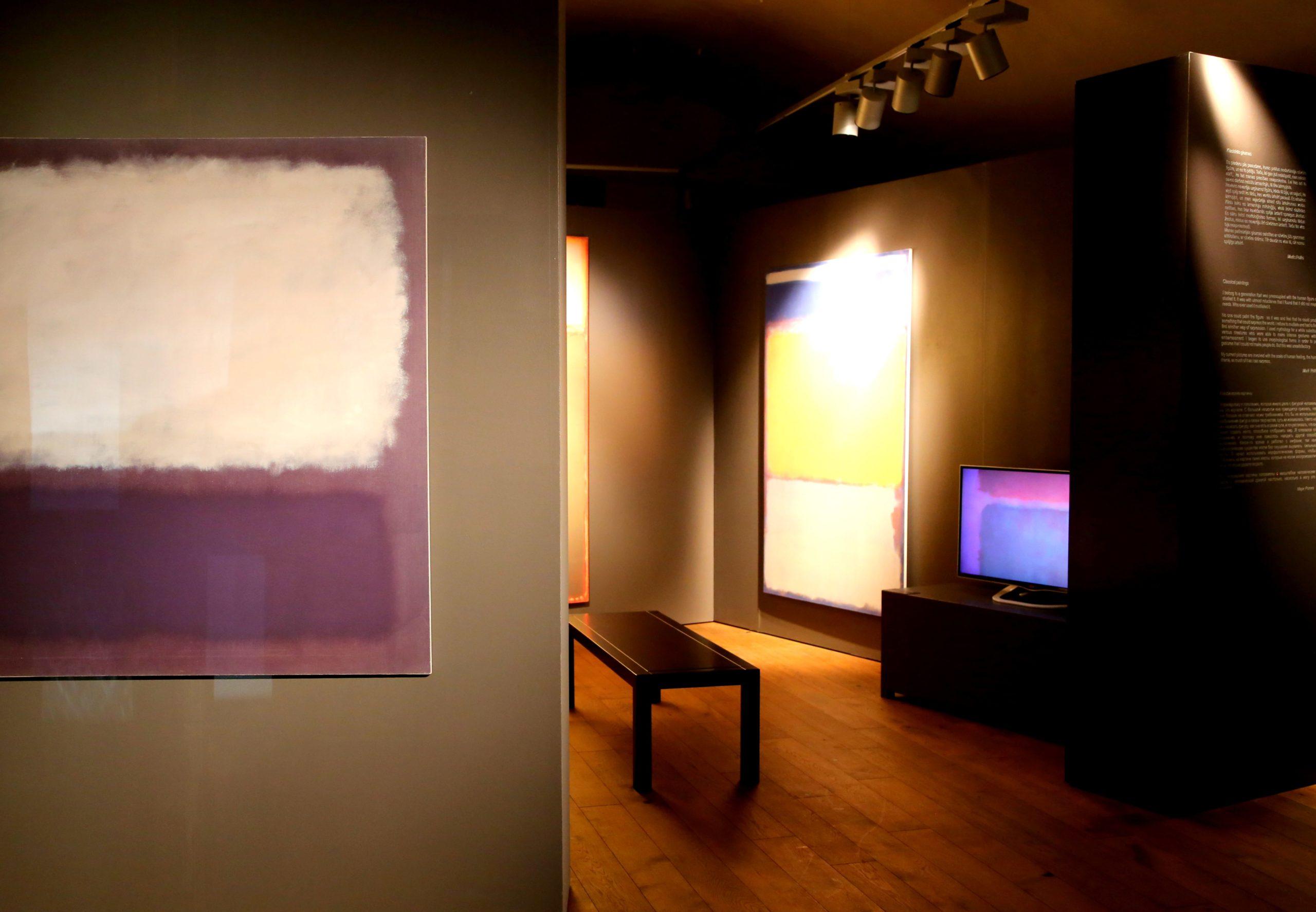 Новая экспозиция в Зале исследований Ротко