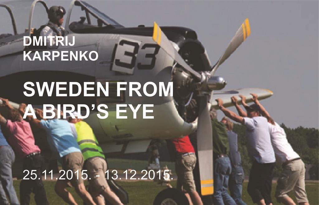 Dmitrij Karpenko Foto exhibition SWEDEN FROM A BIRD'S EYE