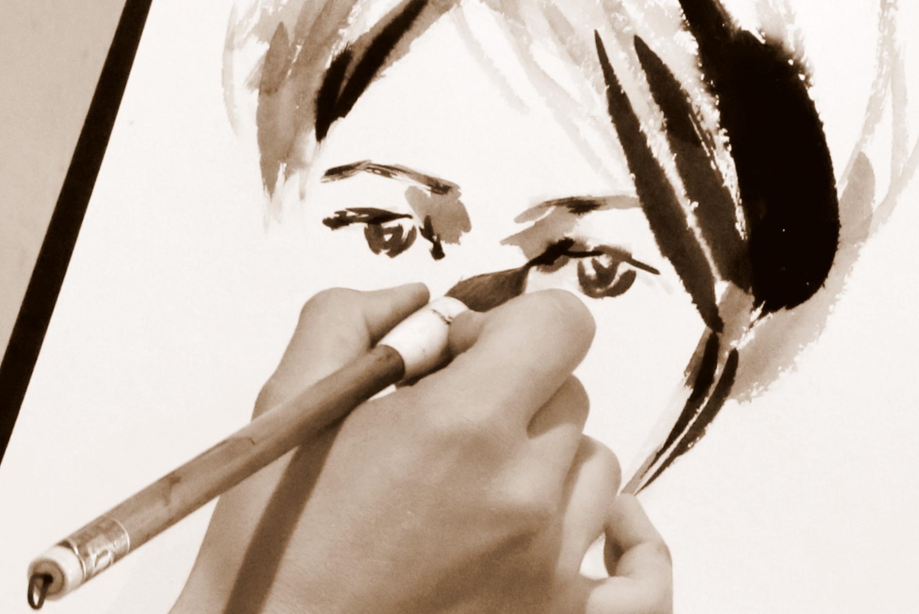 Meistardarbnīca cilvēka figūras un portreta skicēšanā.