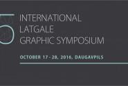 GRAPHIC ART SYMPOSIUM (OCTOBER 17-28, 2016)