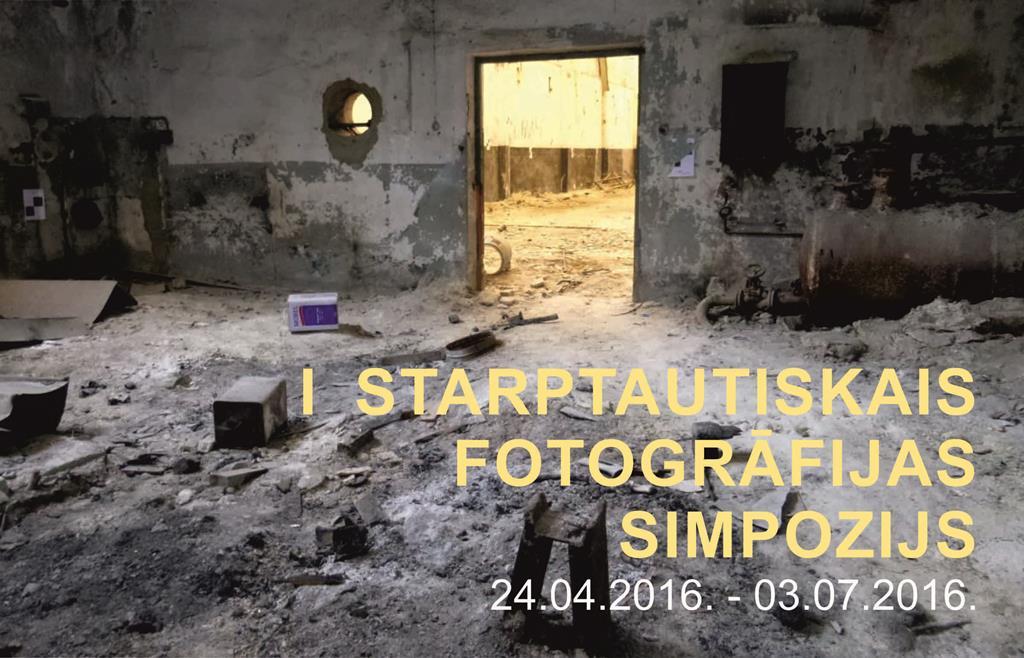 1. STARPTAUTISKAIS FOTOGRĀFIJAS SIMPOZIJS