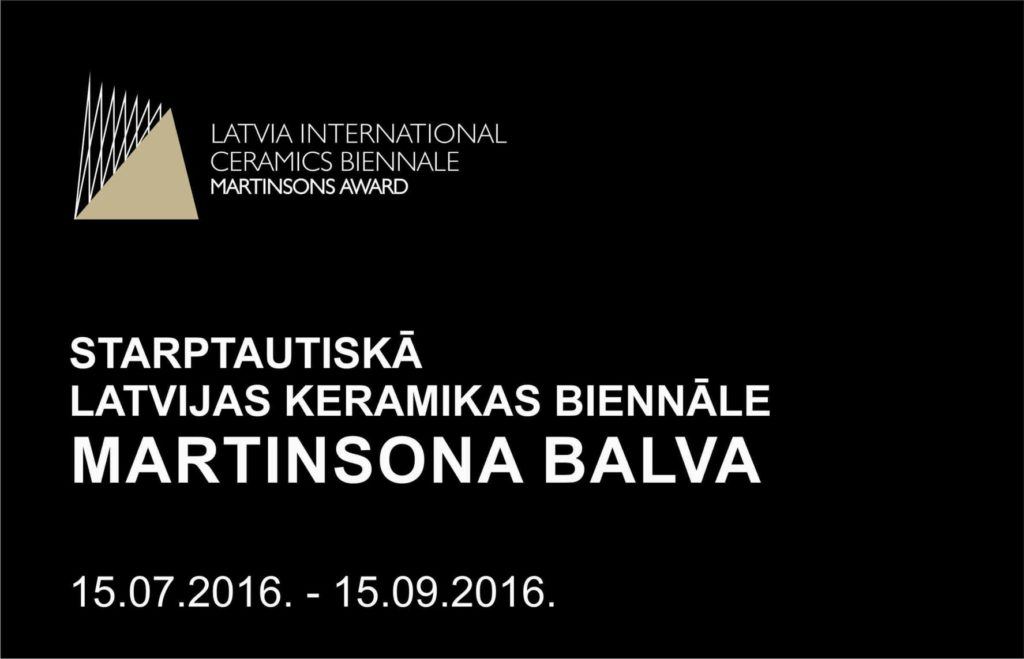 MARTINSONA BALVA STARPTAUTISKĀ LATVIJAS KERAMIKAS BIENNĀLE title=