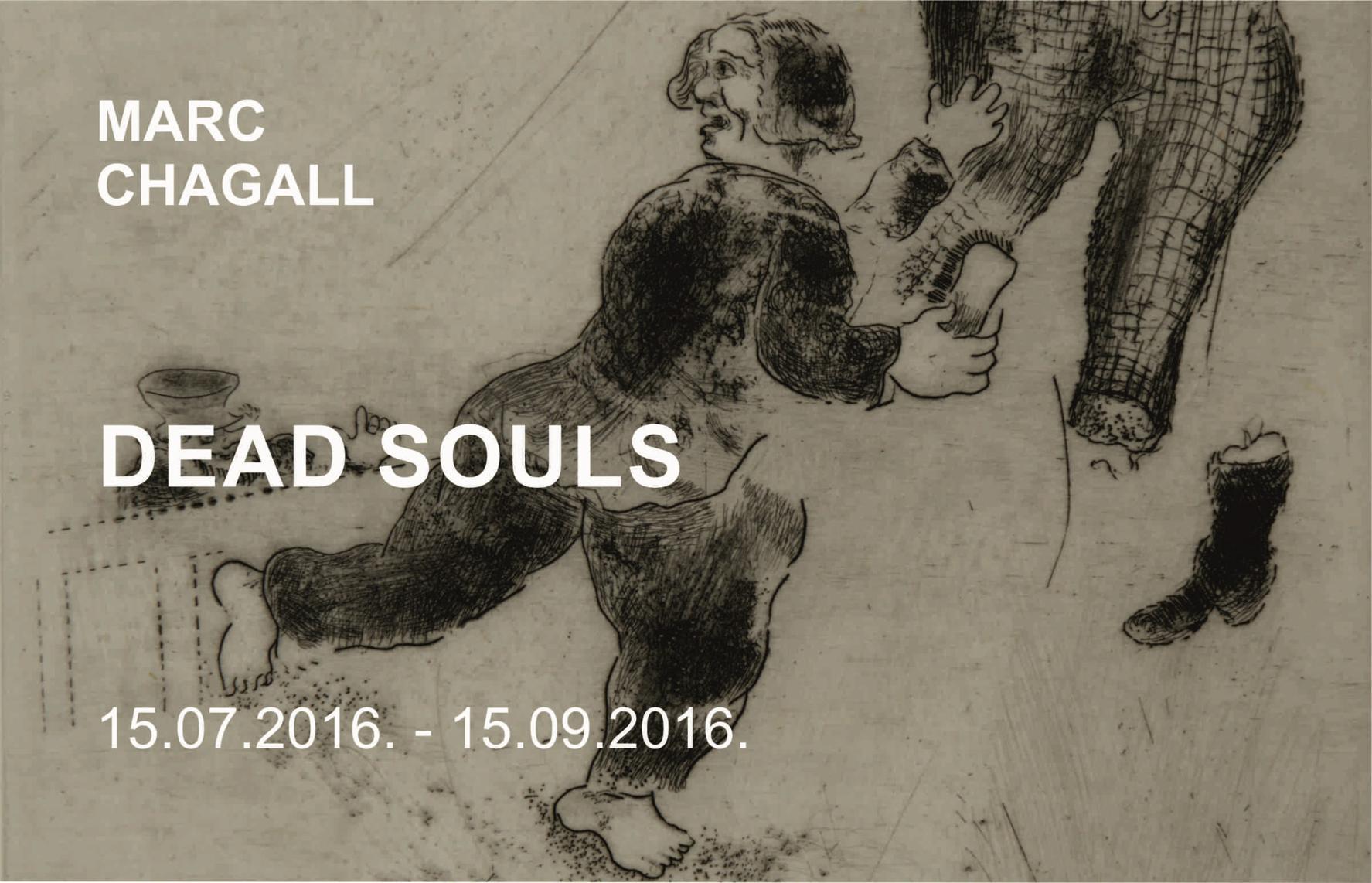 Marc Chagall. Dead Souls
