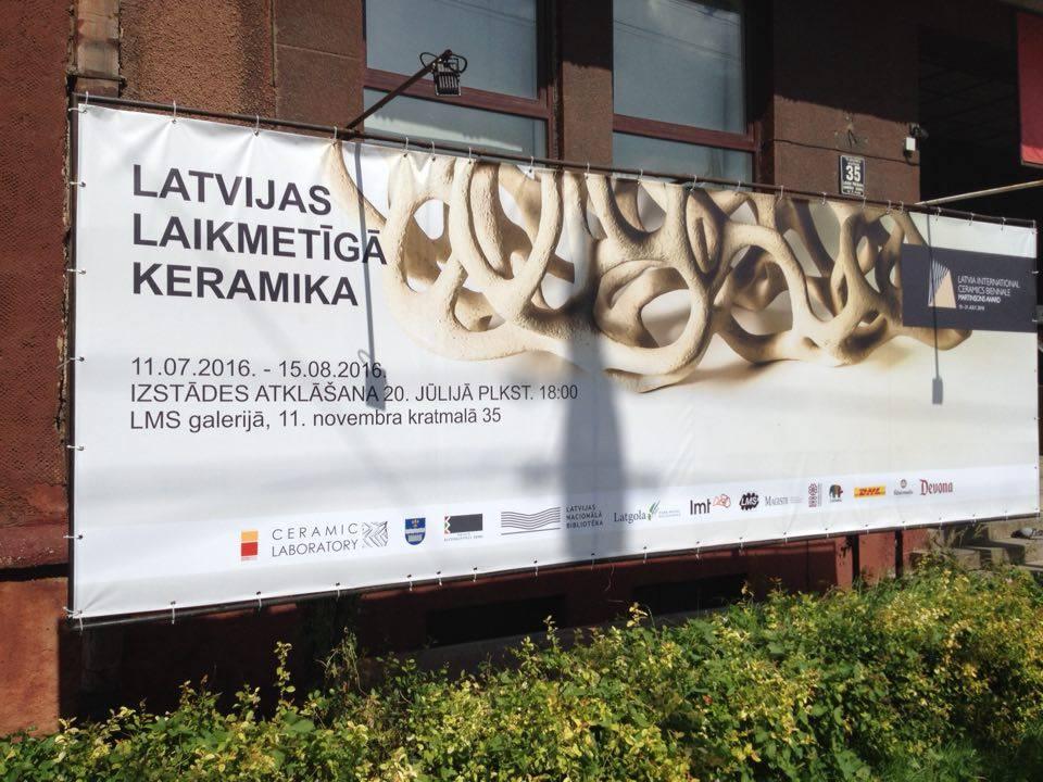 Rīgā skatāmas divas jaunas keramikas izstādes