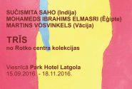 """"""" Mark Rothko 2016 """"12. starptautiska simpozija izstāde TRĪS"""