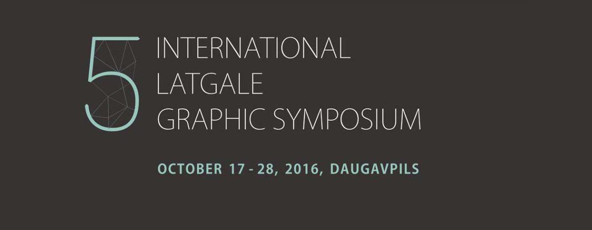 The International Latgale Graphic Art Symposium 2016
