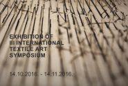 III International Textile Art Symposium