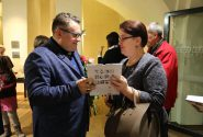 """Alexandre Vassiliev exhibition """"Charm of the Victorian fashion"""" opening"""