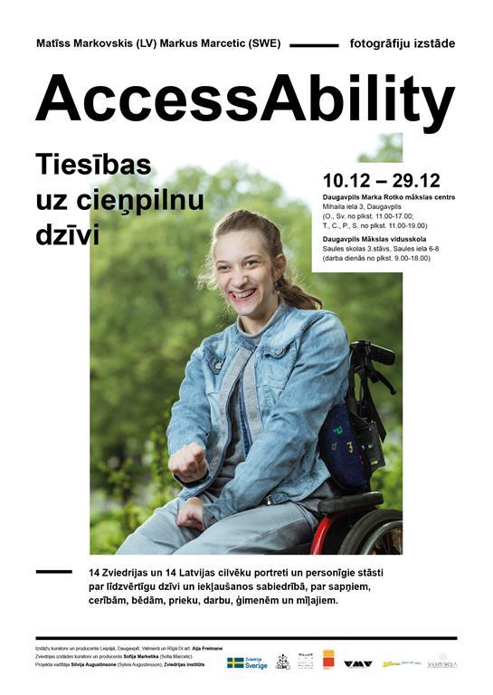"""Fotogrāfiju izstāde """"AccessAbility"""""""