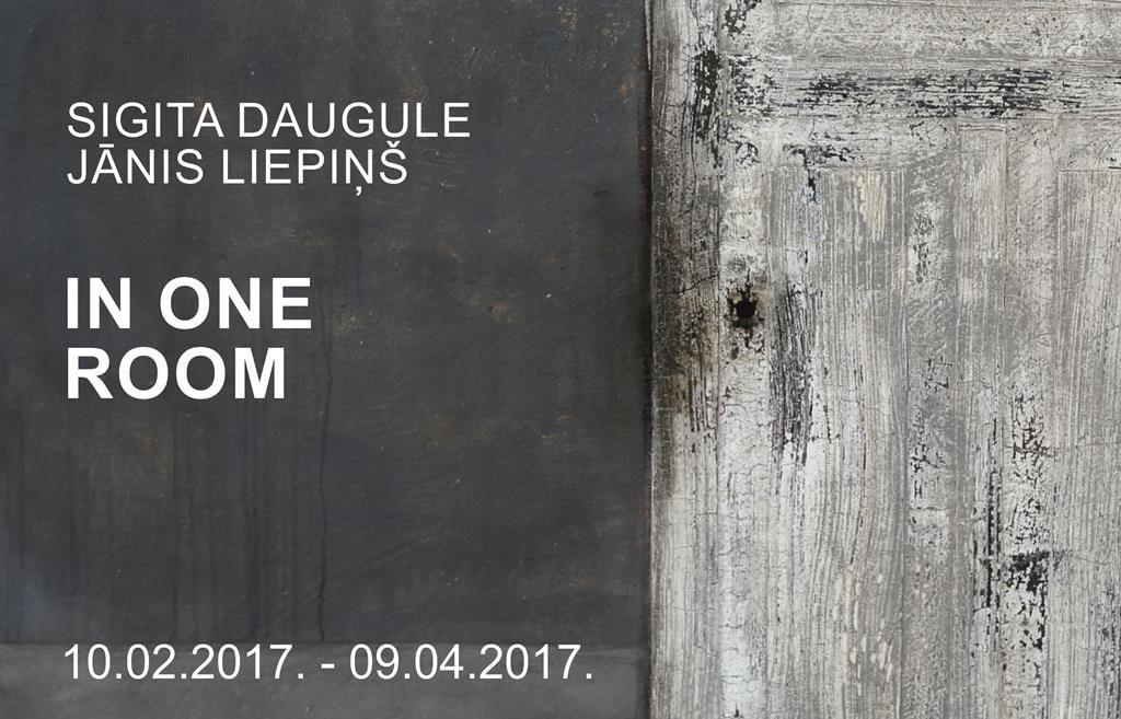 Sigita Daugule, Jānis Liepiņš IN ONE ROOM title=
