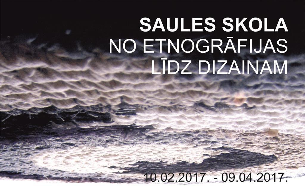 SAULES SKOLA NO ETNOFRĀFIJAS LĪDZ DIZAINAM title=