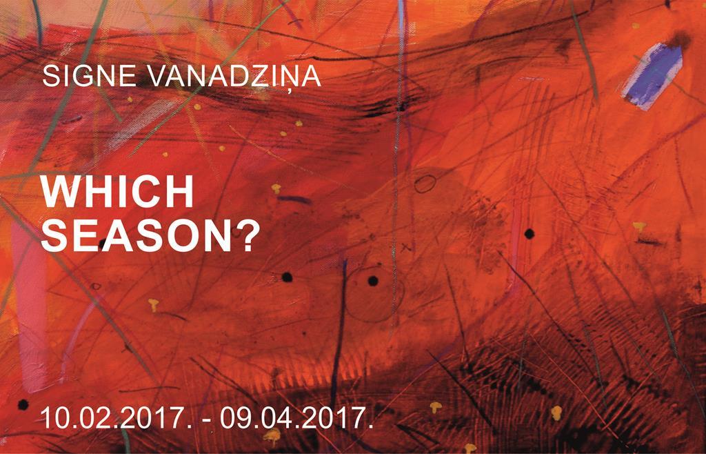 Signe Vanadziņa Which season?