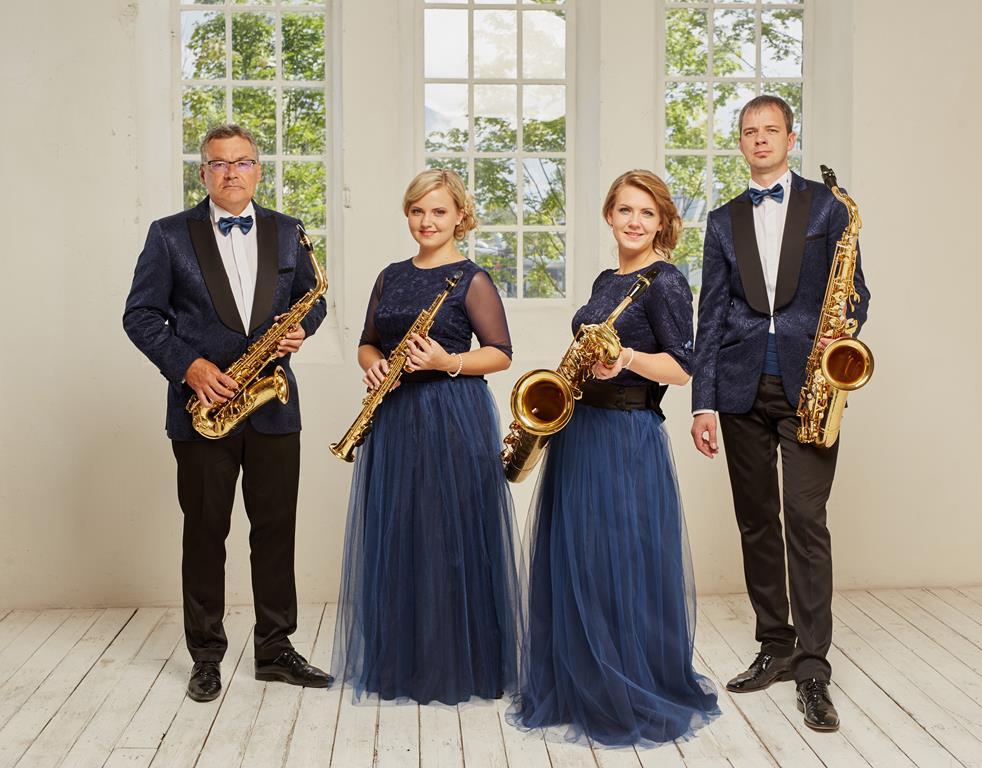 Rīgas Saksofonu kvarteta un Žana Pjēra Baralioli koncerts