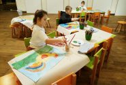 Painting workshop for children