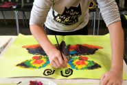 Painting workshops during school holidays