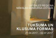 Latgales reģiona mākslas konkursa izstāde Klusuma un tukšuma formas