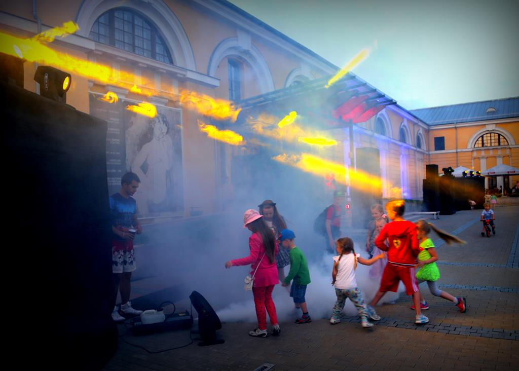 On 9th of June The Night of arts in Daugavpils fortress