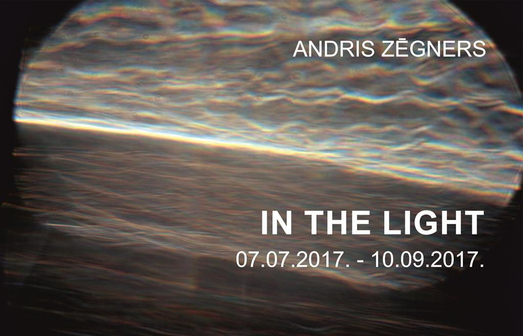 Andris Zēgners IN THE LIGHT title=