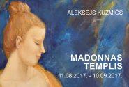 Mākslinieka Alekseja KUZMIČA izstādes projekts  MADONNAS TEMPLIS