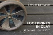 Latvīte Medniece  FOOTPRINTS IN CLAY