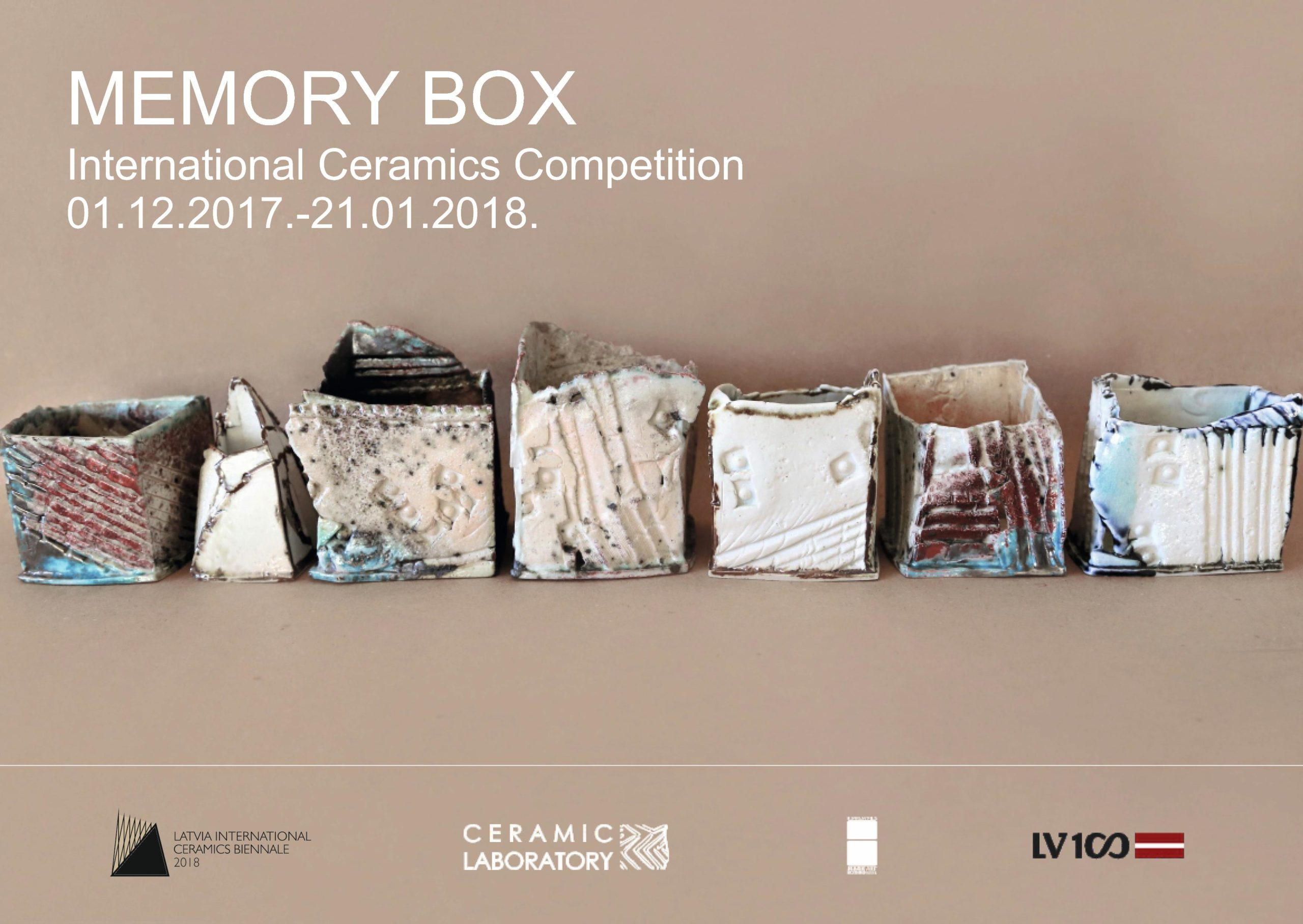 LATVIA INTERNATIONAL CERAMICS BIENNALE 2018