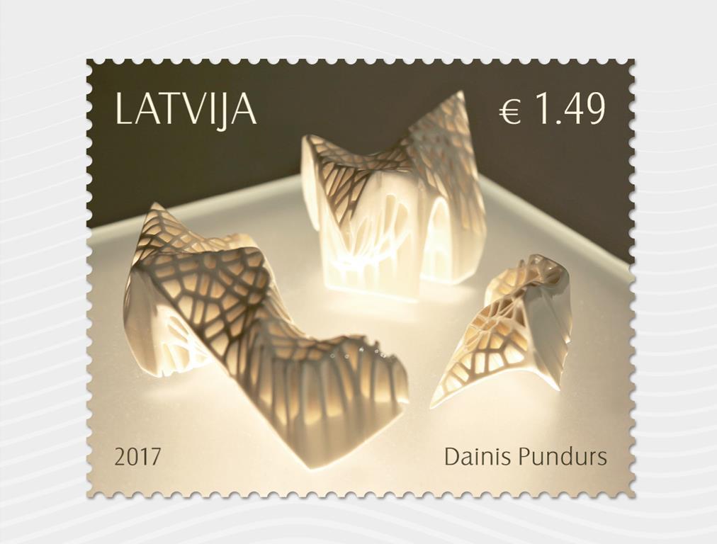 Rotko centrā prezentēs Latvijas mūsdienu keramikas mākslinieka Daiņa Pundura daiļradei veltītu pastmarku