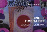 """GUNARS KROLLIS """" SINGLE TIME TARIFF """""""