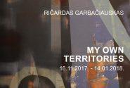 Ričardas Garbačiauskas MY OWN TERRITORIES