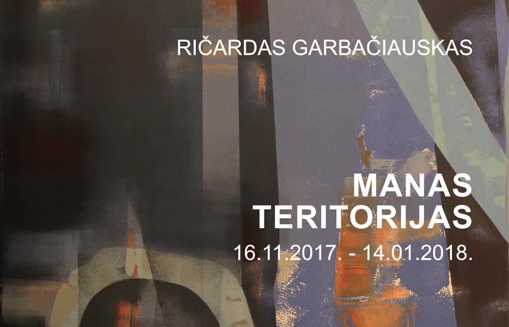 Ričardas Garbačiauskas MANAS TERITORIJAS