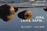 Ilona Vilka Jūra, laiks, sapņi…
