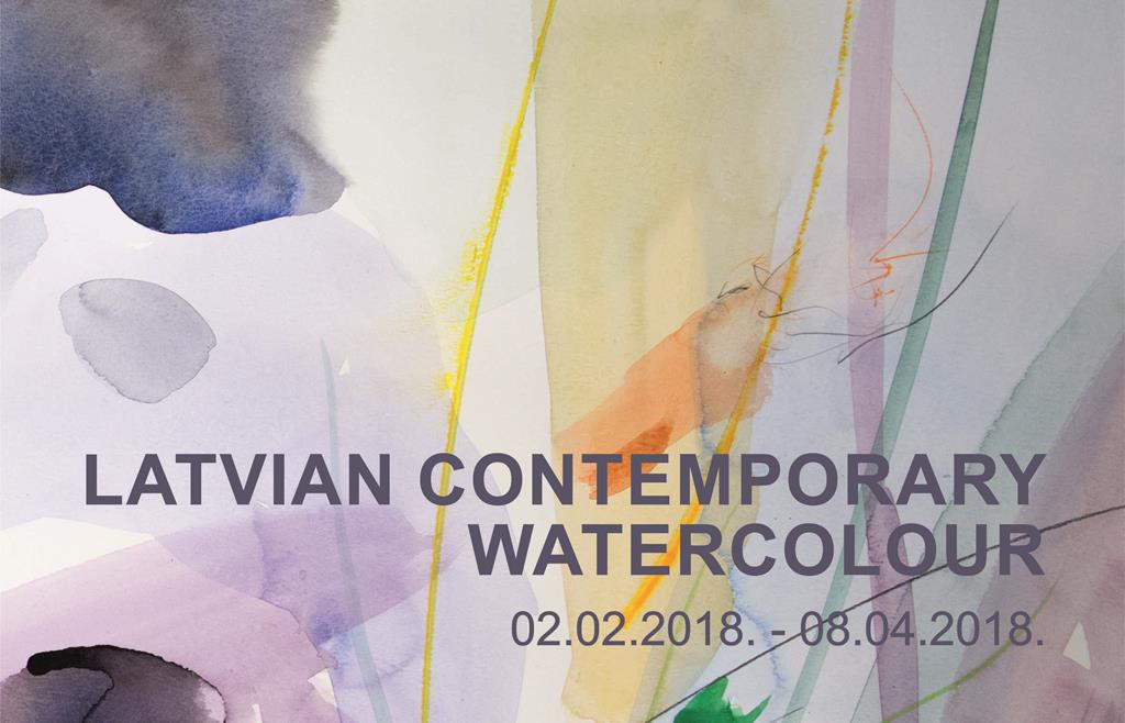 LATVIAN CONTEMPORARY WATERCOLOUR