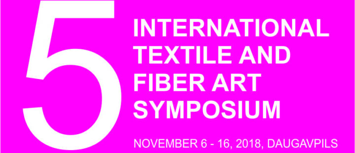 5TH INTERNATIONAL TEXTILE AND FIBER ART SYMPOSIUM