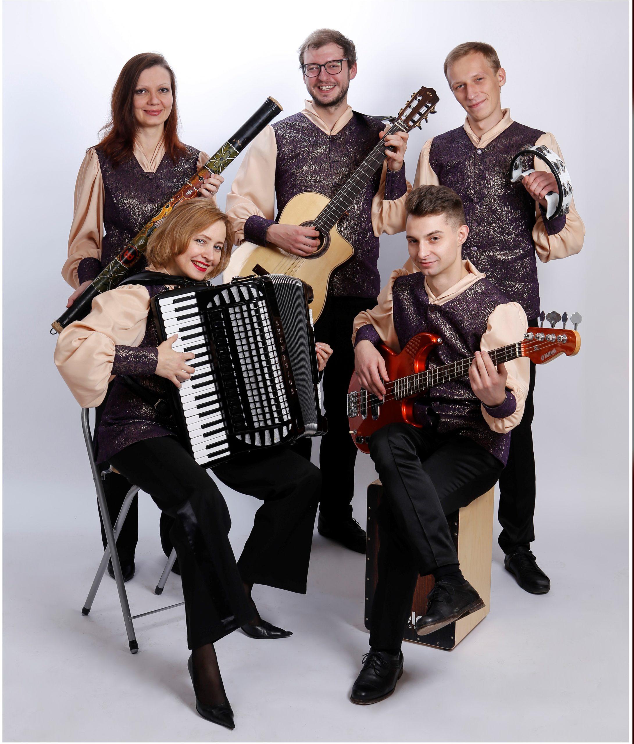 Rēzeknes instrumentālā ansambļa L'Chaim koncerts