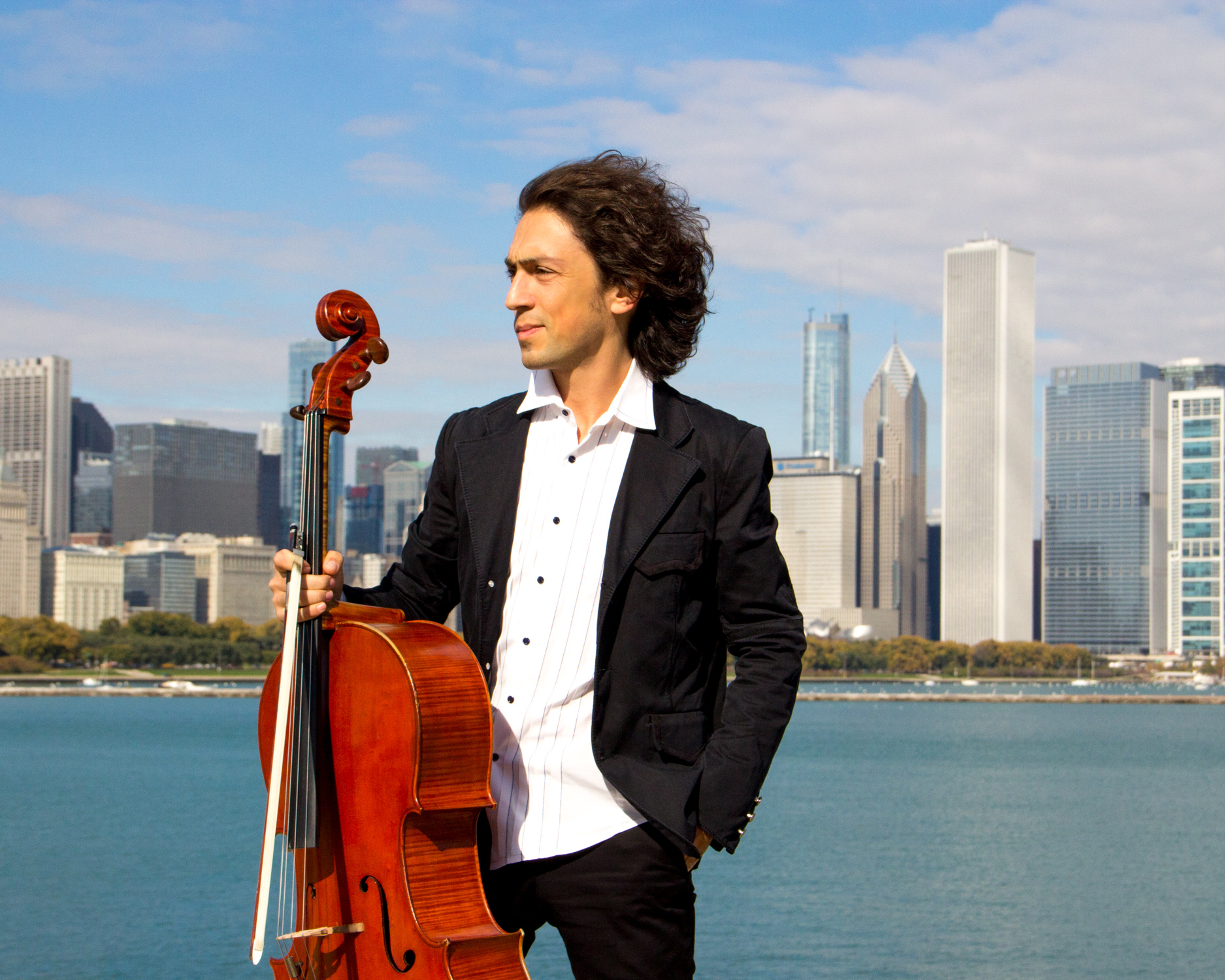 American star cellist to give a free concert at the Rothko Centre