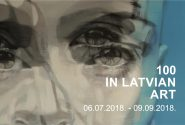 100 in Latvian art