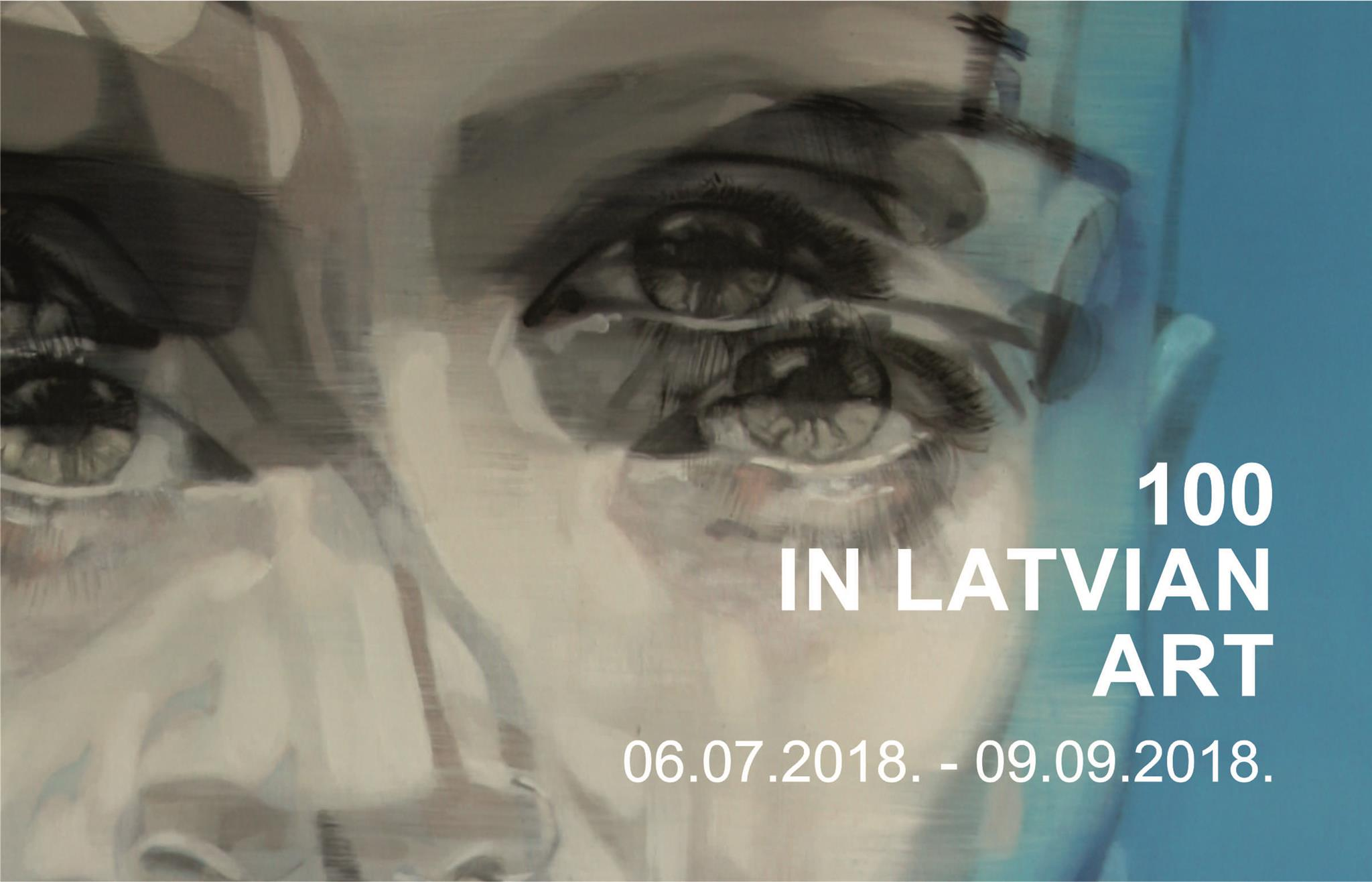 100 in Latvian art