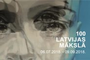 100 Latvijas mākslā