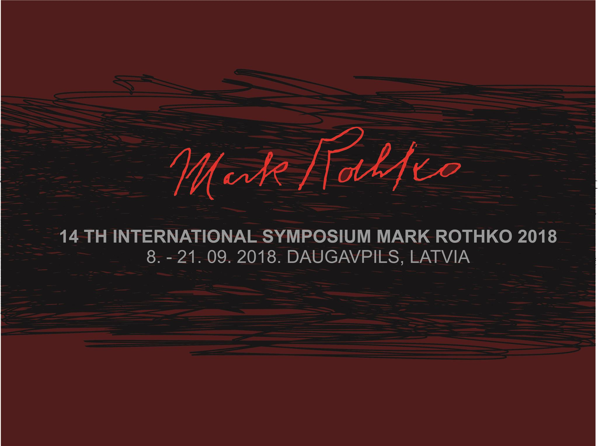 "Painting symposium ""Mark Rothko 2018"""