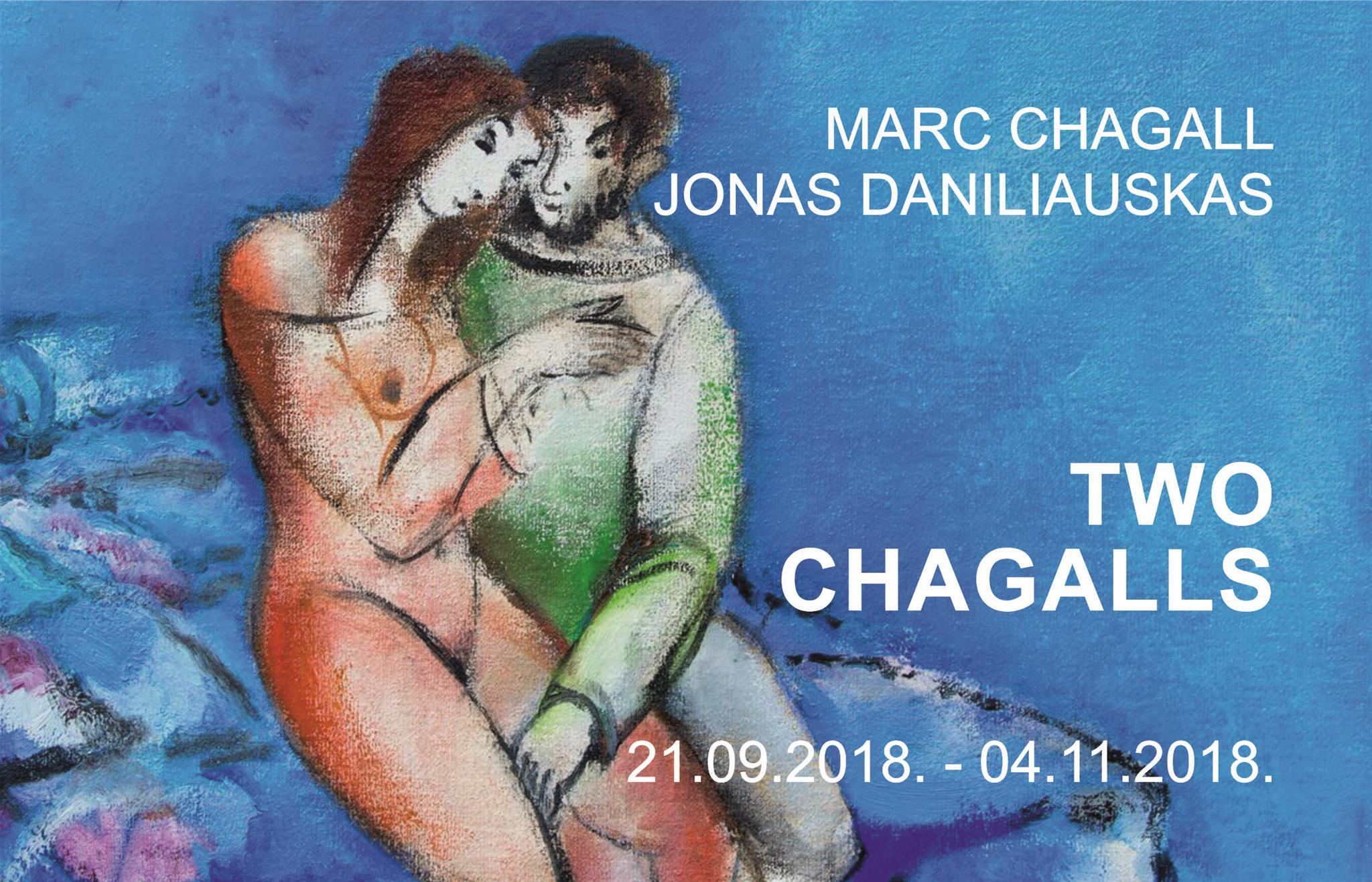 CHAGALL ONE AND TWO