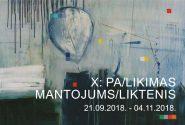 X: PA/LIKIMAS (MANTOJUMS/LIKTENIS)