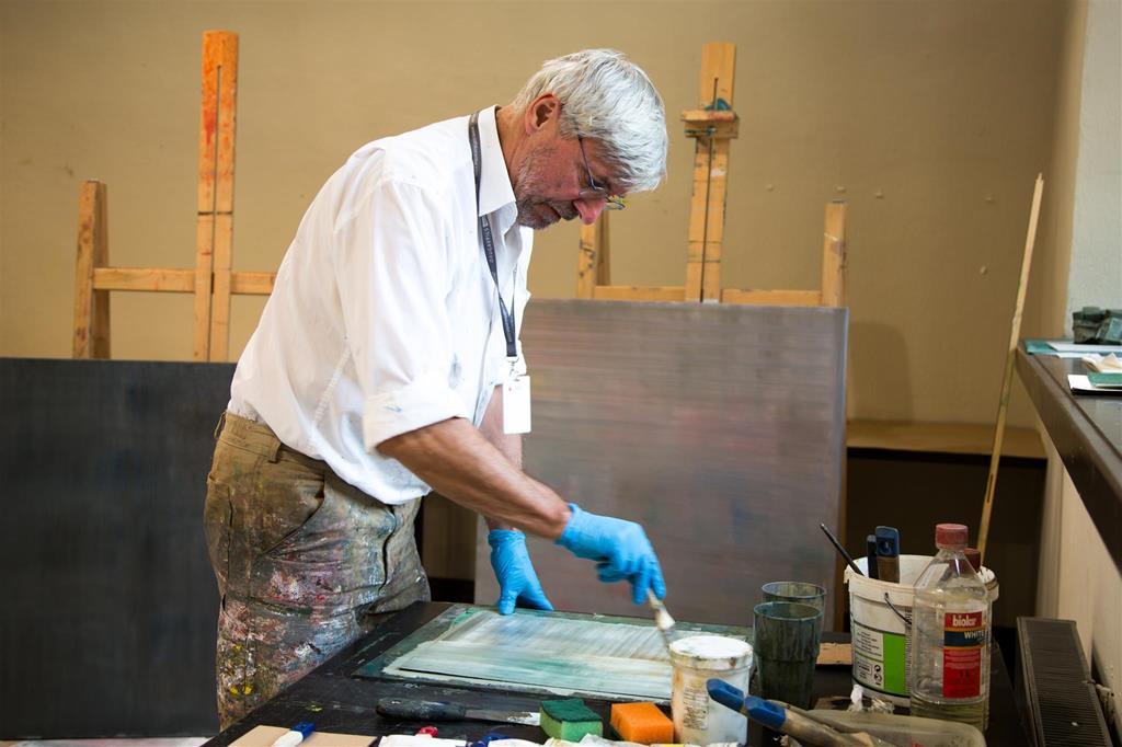 Gleznošanas simpozija mākslinieku teorētiskās un praktiskās meistarklases