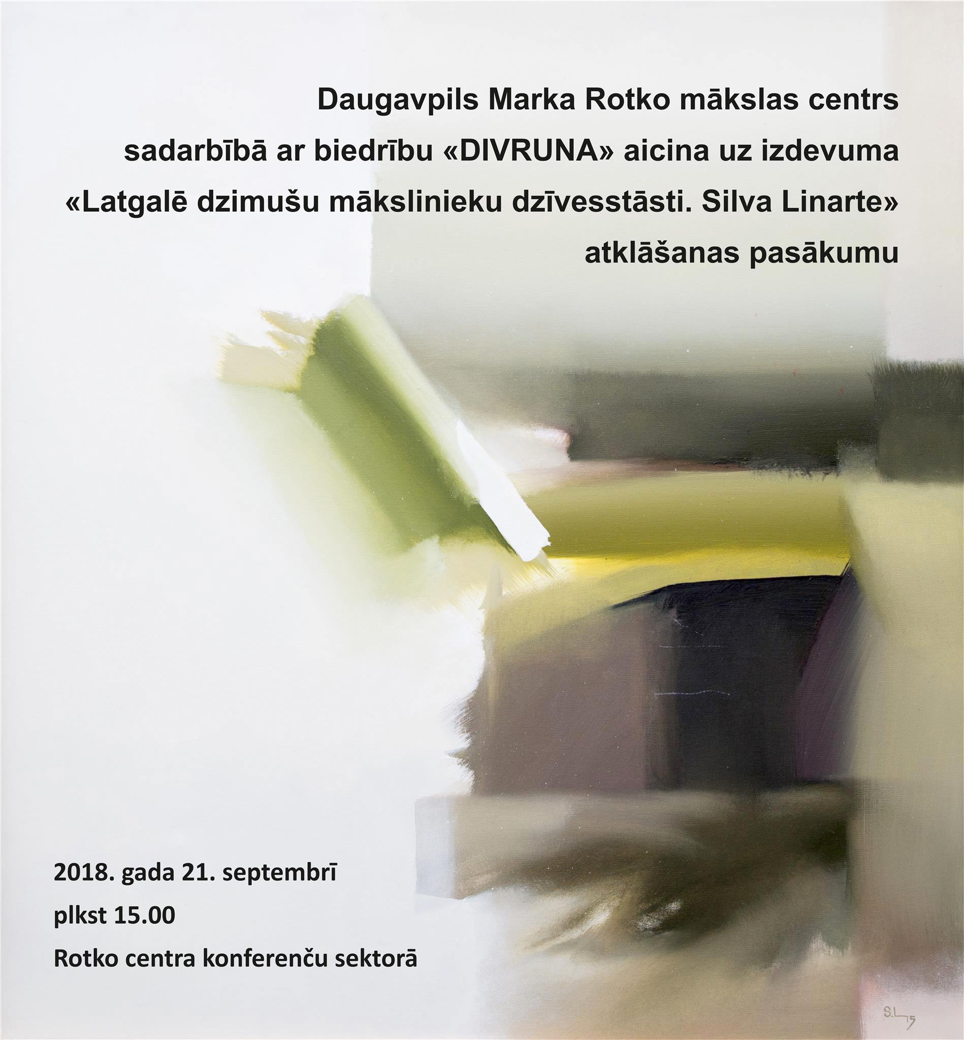Презентация книги, рассказывающей о жизни Силвы Линарте