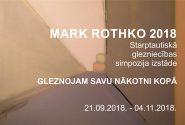 Starptautiskais glezniecības simpozijs  Mark Rothko 2018