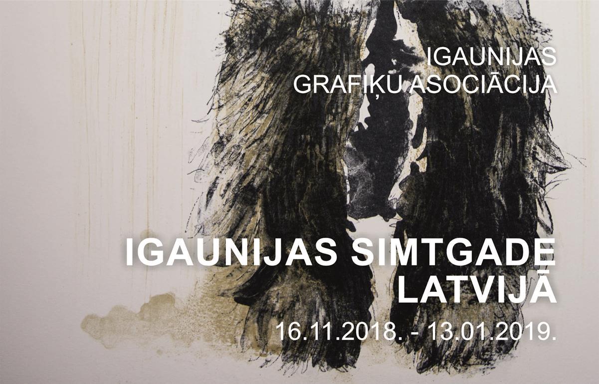 IGAUNIJAS SIMTGADE LATVIJĀ