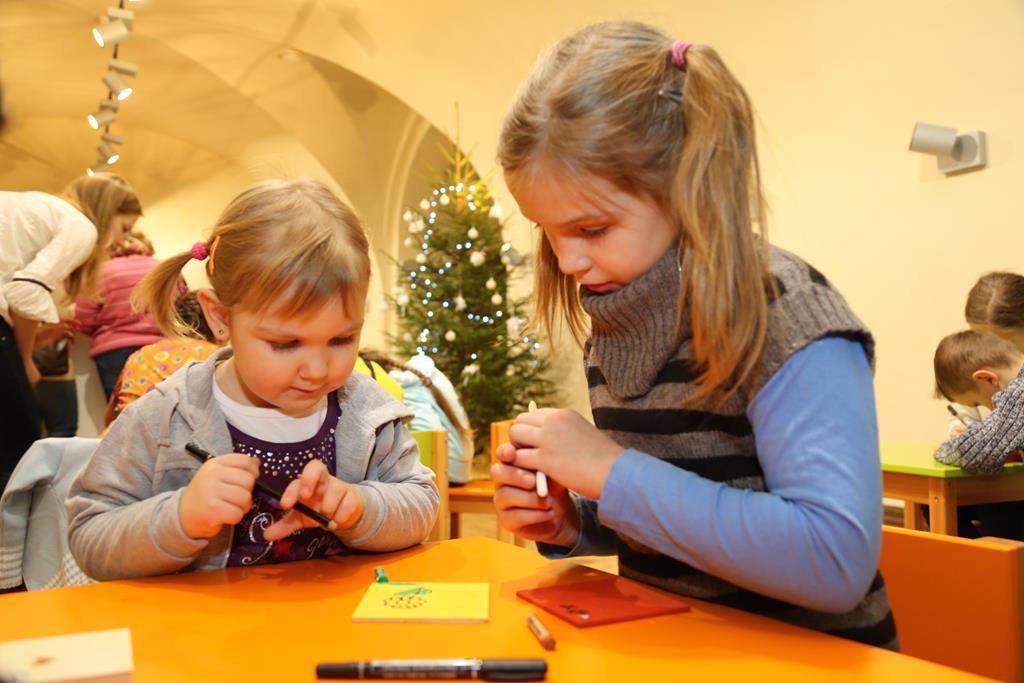 Ziemassvētku radošās darbnīcas Rotko centrā