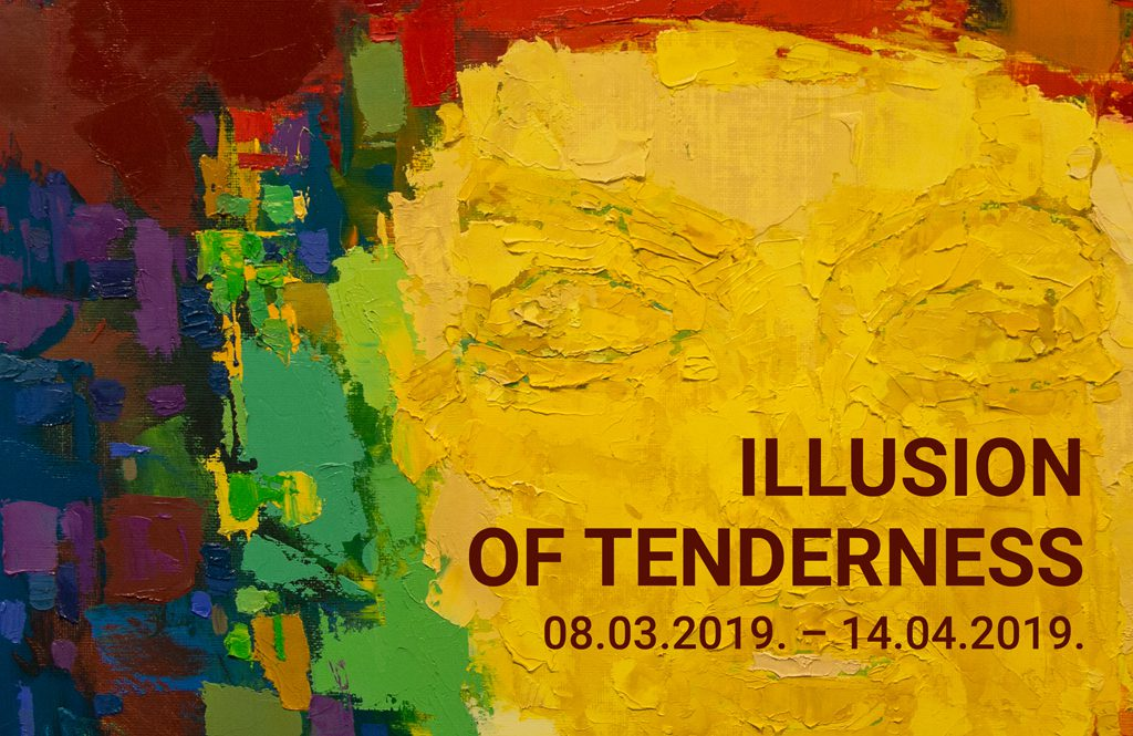 """The exhibition """" ILLUSION OF TENDERNESS"""" from the painting collection of Daugavpils Mark Rothko Art Centre. title="""