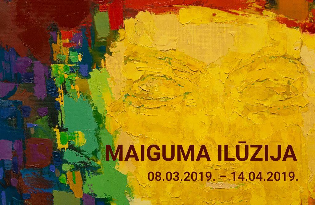 """Daugavpils Marka Rotko mākslas centra glezniecības kolekcijas izstāde """"MAIGUMA ILŪZIJA"""". title="""